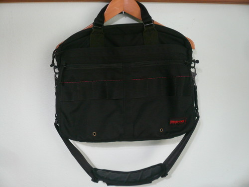 アメリカ製 BLIEFING ブリーフィング 2WAY バッグ ブラック ナイロン / ビジネス ブリーフケース