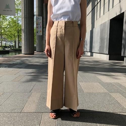 【CINOH】TWILL BAGGY PANTS