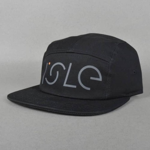 ISLE / FREE / BLACK / 5PANEL CAP