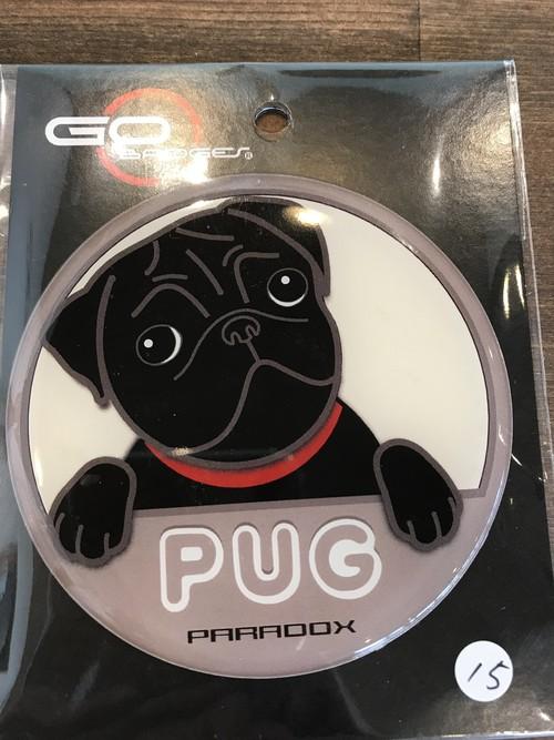 ゴーバッジ DOG 15 Pug 2