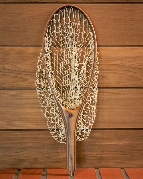 "Handmade Landing Net  ""Last Chance"" - Glass"