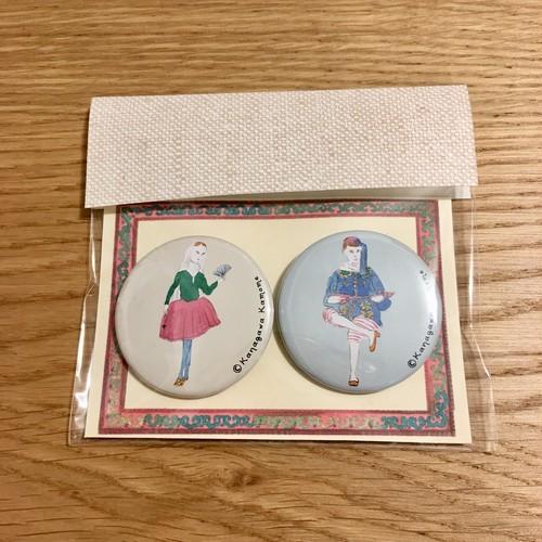 缶バッジセット_民族衣装 / folklore