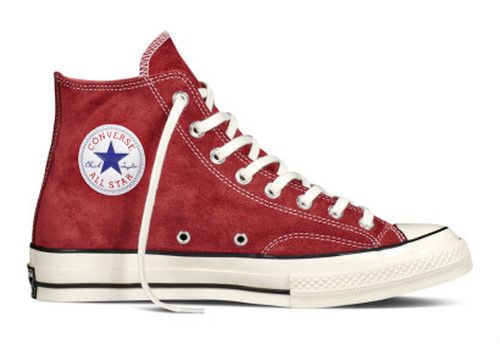Converse All Star Chuck'70 スエード Hi Red