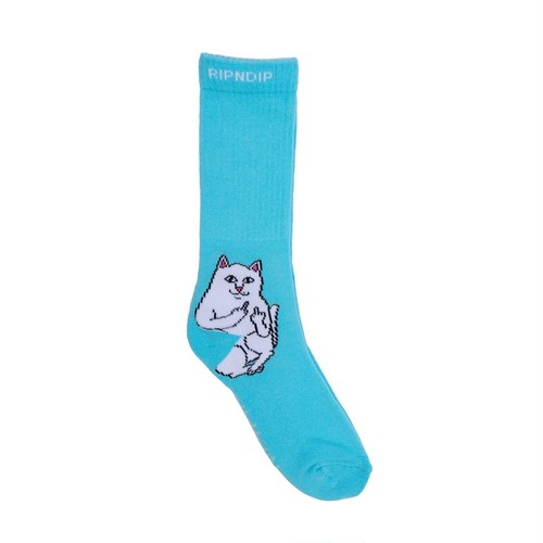 RIPNDIP - Lord Nermal Socks (Baby Blue)