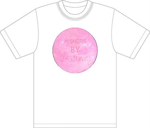 <受注生産><2017新作>cosmic Tee_pink S〜XXL