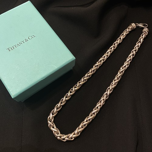TIFFANY Silver Rope Necklace