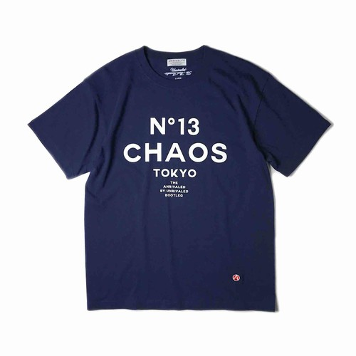 """ANRIVALED by UNRIVALED """"No.13 TEE"""" NAVY"""