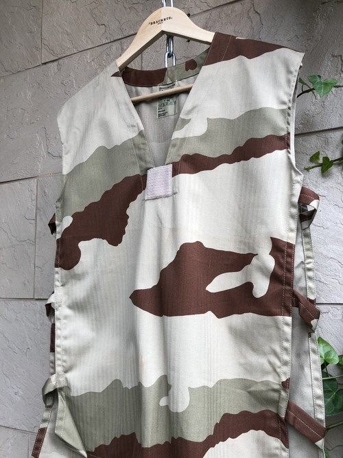French military GAO vest sand camouflage