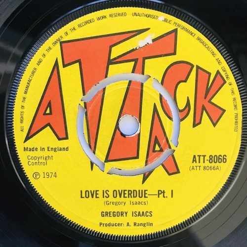 Gregory Isaacs - Love Is Overdue【7-11051】