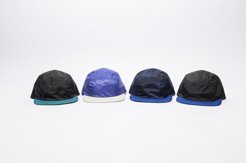 2 TONE NYLON CAMP CAP
