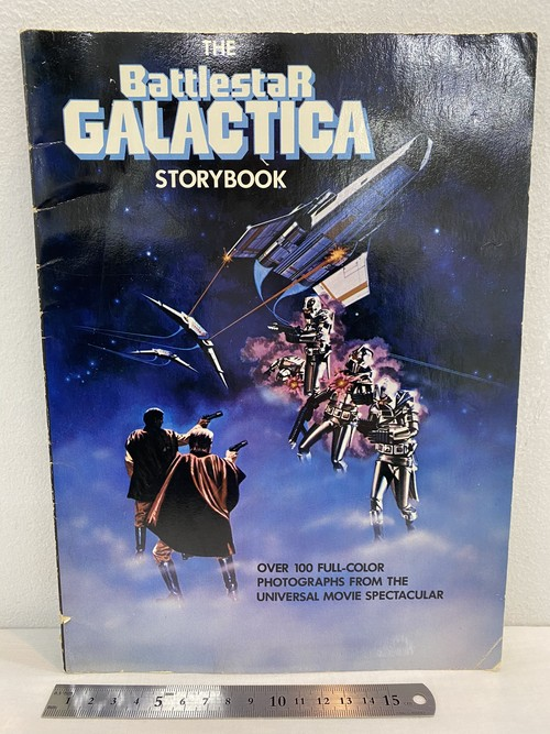 洋書 70's THE battlestarGALACTICA  storybook