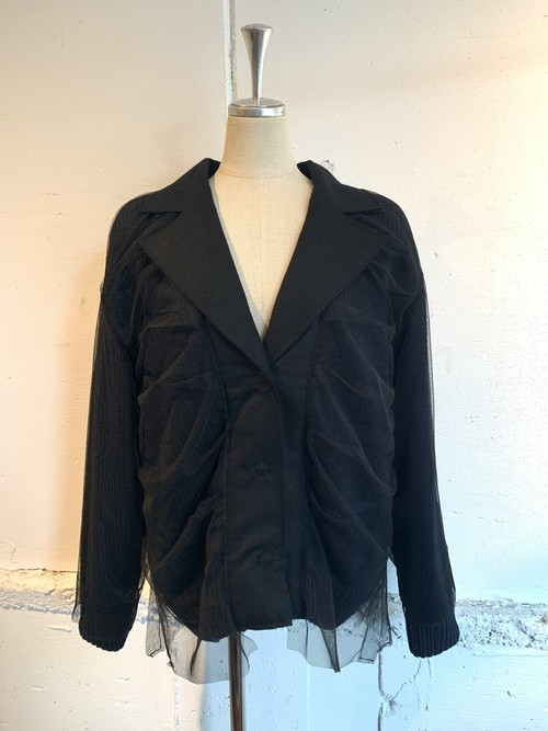 PONTI COVERD WOOL JACKET