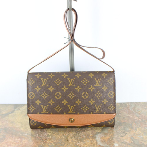 .LOUIS VUITTON M51798 MI1906 MONOGRAM PATTERNED SHOULDER BAG MADE IN FRANCE/ルイヴィトンボルドーモノグラム柄ショルダーバッグ 2000000040233