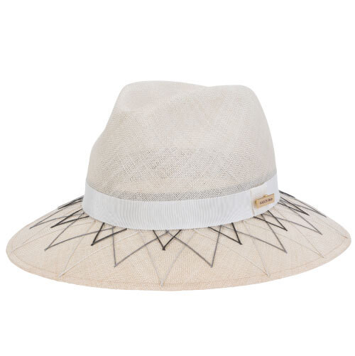 MB-20113 GEOMETRY SISAL HAT