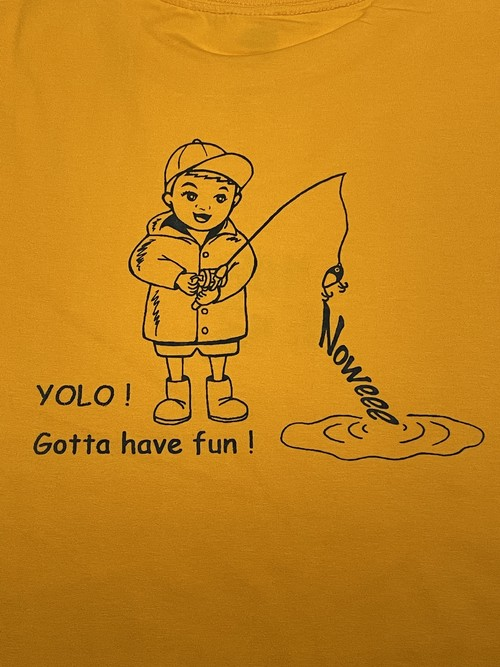 NoweeeオリジナルTシャツ〜fishing〜【全4色】