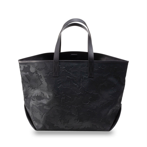 GENTIL BANDIT LABEL NOIR CANVAS TOTE GM BLACK