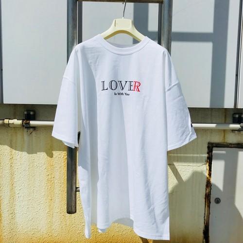 RE:OMG LOVER T-SHIRT 白 (送料込)