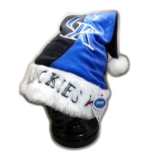 コロラド ロッキーズ MLB ロング ニットキャップ系 COLORADO ROCKIES B系 サンタクロース コスプレ衣装 クリスマスハット 65