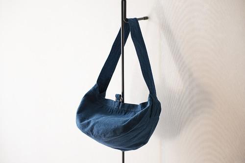 LITMUS/本藍染ショルダーバッグ