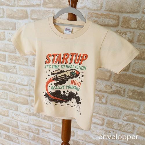 キッズ Tシャツ STARTUP