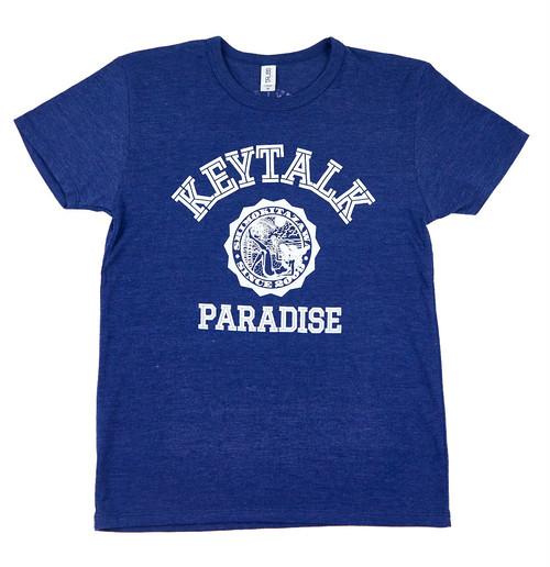 KEYTALK カレッジTシャツ(ネイビー)