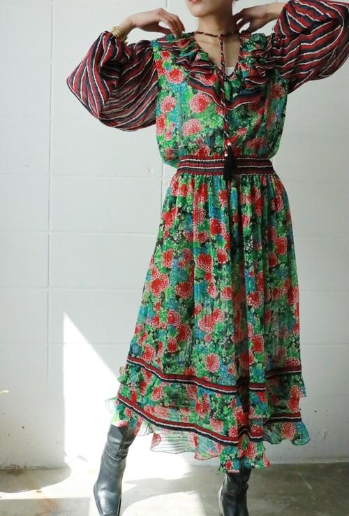 Diane Freis flower dress