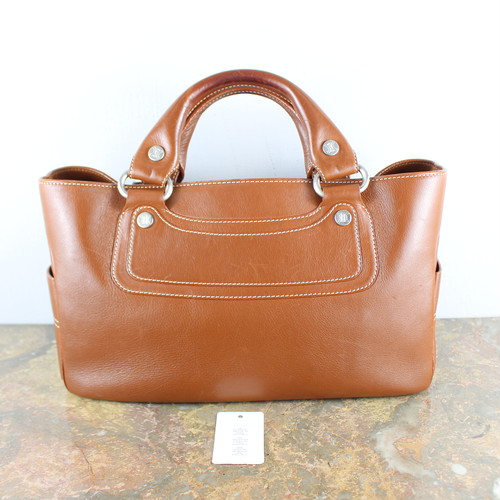 .CELINE LEATHER BUGY BAG MADE IN ITALY/セリーヌレザーブギーバッグ2000000051079