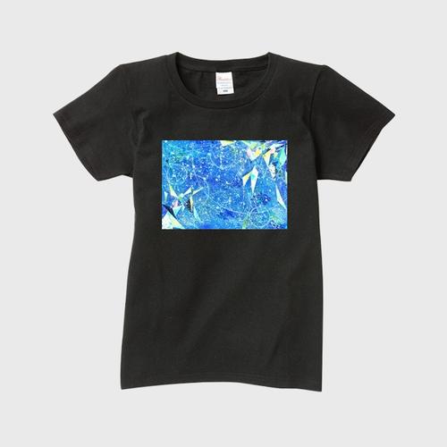 「心のありか」レディースTシャツ