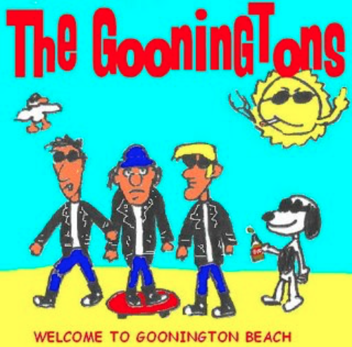 the gooningtons / welcome to goonington beach cd USED