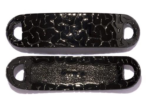 Brain Plate Shoe-Pierce  Black-Coating