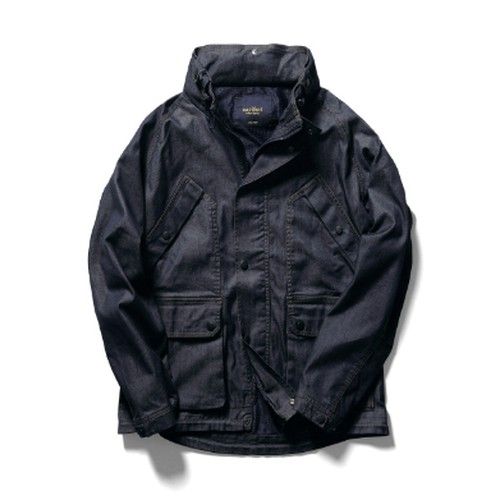 narifuri Dry denim urban field jacket