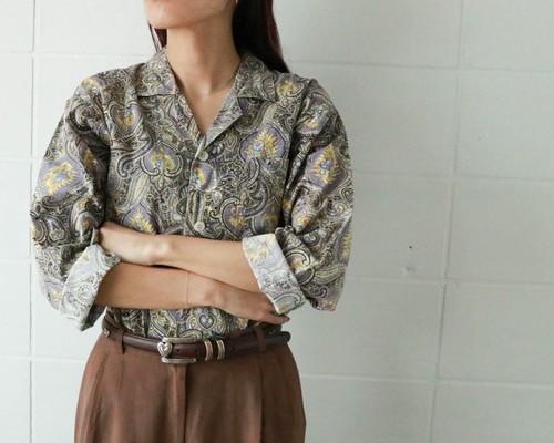 MOSCHINO paisley shirt