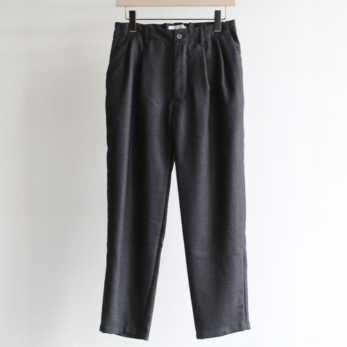 STILL BY HAND【 mens 】wool 2tuck pants
