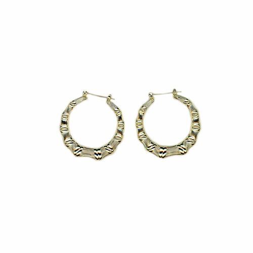 【GF2-17】gold filled mini bamboo earring