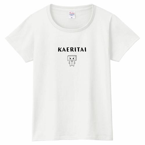 とうふめんたるずTシャツ(きぬごしくん・レディース)
