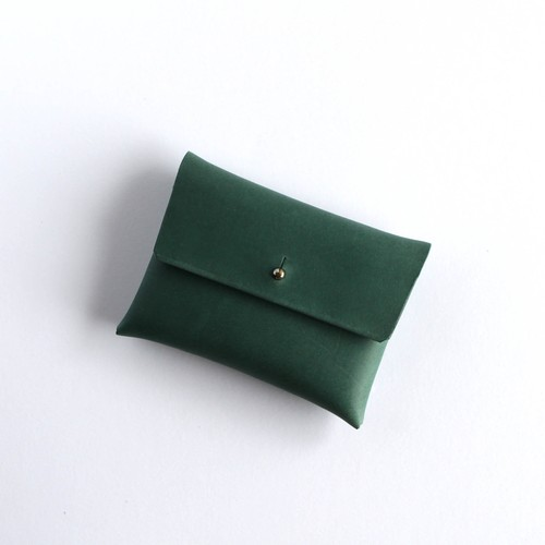 suare card case #dark green / スアレカードケース・名刺入れ #深藍色