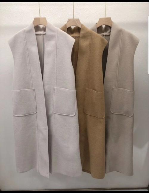 ルベイジロングベスト ロングベスト ベスト 韓国ファッション