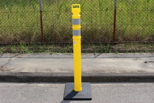 DELINEATOR POST YELLOW