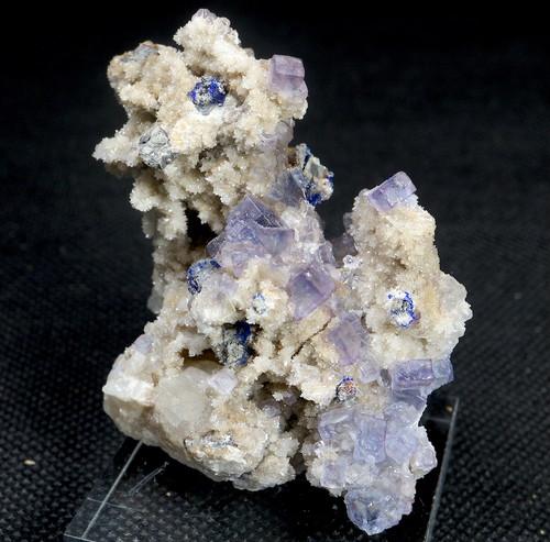 レア!フローライト + リナライト 蛍石 原石 66g  FL103 鉱物 天然石 パワーストーン