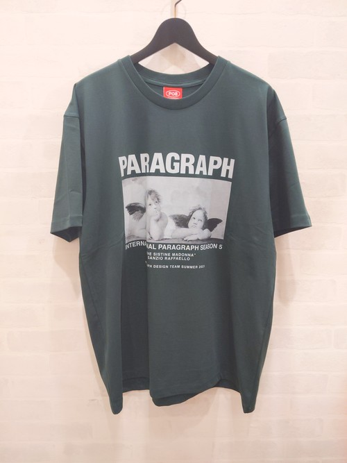 Paragraph S/S tee Angel Graphic 天使 GREEN