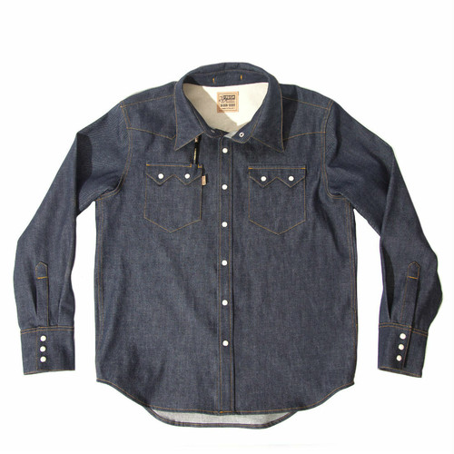 "Prism Supply co. ""Banjo"" Denim Shirt"