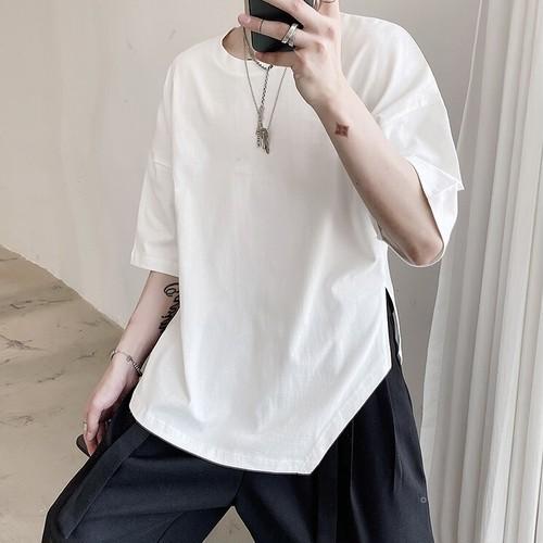サイドスリットTシャツ BL5738