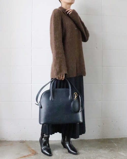 CELINE navy 2 way bag