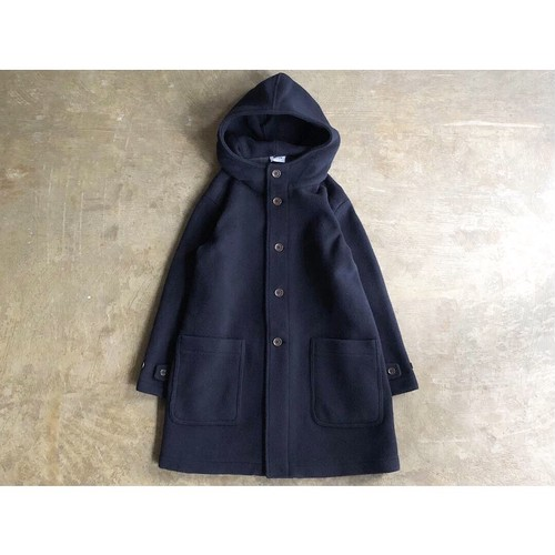 ARMEN (アーメン) DOUBLE FACE HOODED COAT