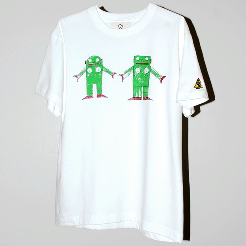 """『PALETTE』 """"ロボット""""  T-SHIRT"""
