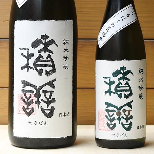 積善(せきぜん)つるばらxひとごこち   純米吟醸 1800ml【長野】