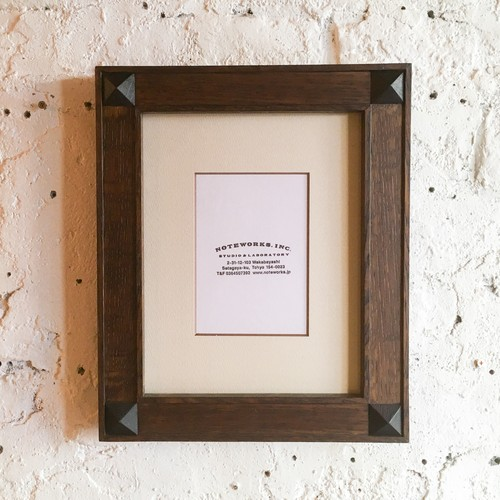 """FOUR STUDS FRAME """"COLOR STAIN"""""""