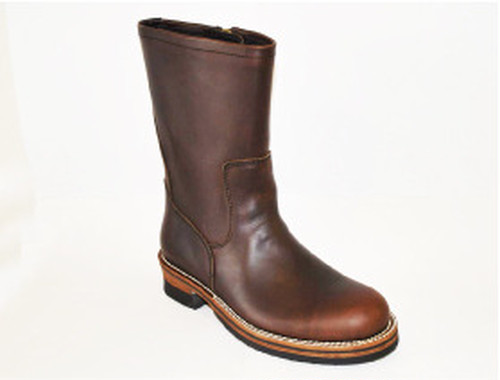 【High Line】ZIP ENGINEER BOOTS CHROMEXCEL DK.BROWN GR-KE318B
