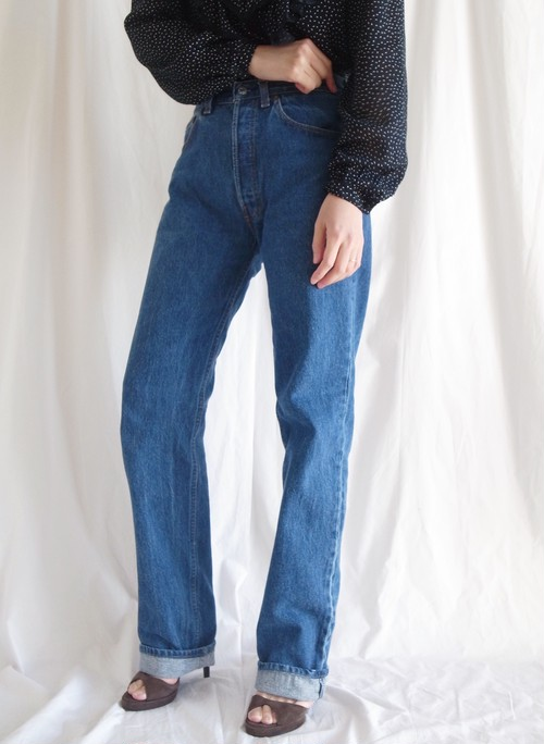 90s 501 Levis Jean Dark Wash / USA