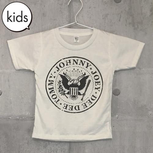 【送料無料 / ロック バンド Tシャツ】 RAMONES / Presidental Seal Logo Kids T-shirts M XL ラモーンズ / ロゴ キッズ Tシャツ M XL